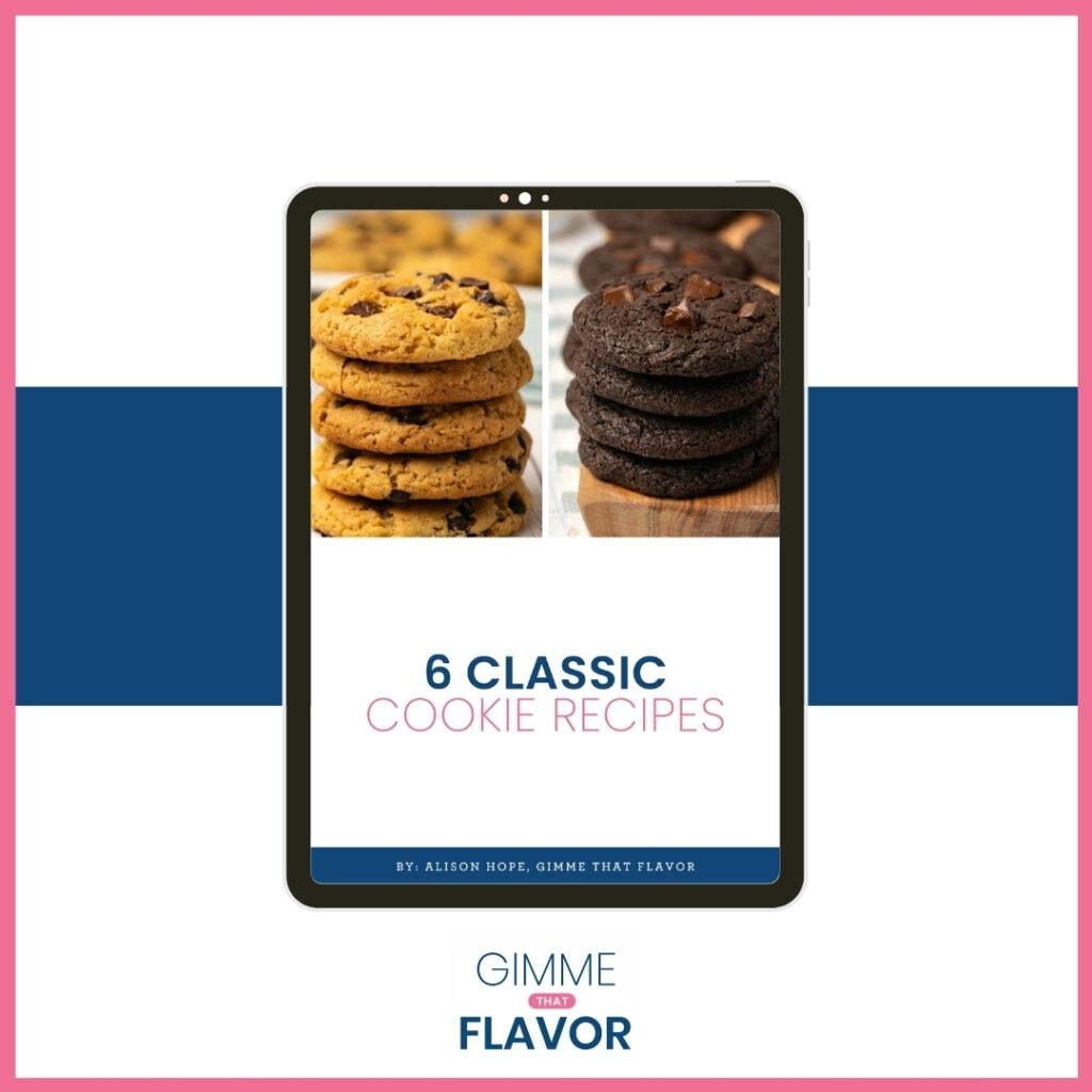 Cookie Recipes Ebook Image