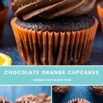 Chocolate Orange Cupcakes